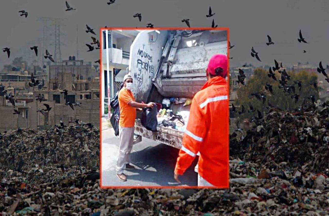 Fernando y el riesgo de recolectar basura en tiempos de covid