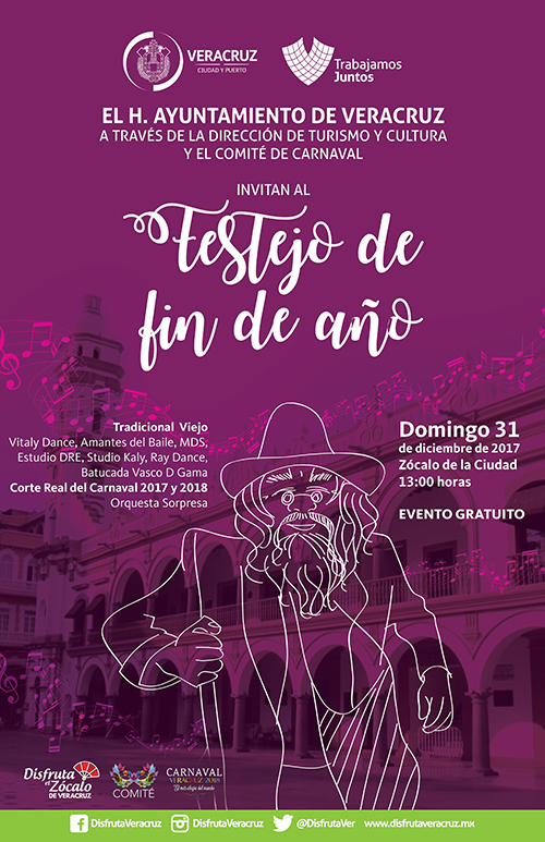 Gobierno Municipal de Veracruz invita a