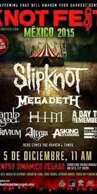 Slipknot se presentará por primera vez en México durante el Knot Fest