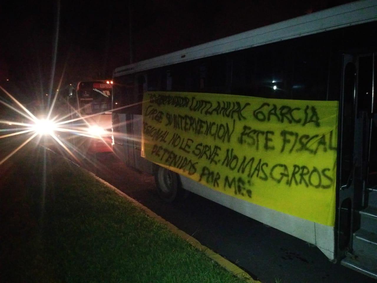 Transportistas acusan a Fiscalía de dilación para liberar unidades