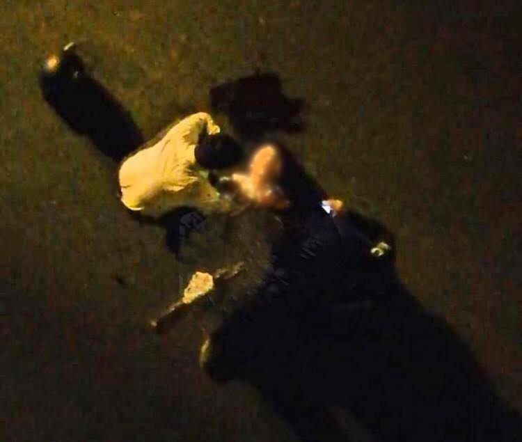 Choca motociclista y cae del puente de Murillo Vidal, en Xalapa