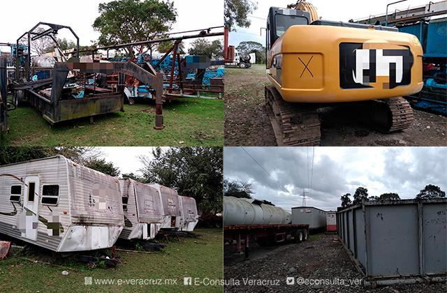FGR asegura base de operaciones de huachicoleros en Tihuatlán
