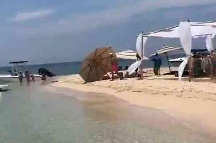 No había autorización para fiesta en Isla Salmedina: Semarnat