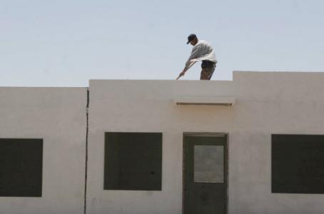 Se derrumba construcción de vivienda en México