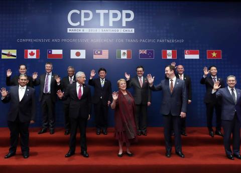 México y otros diez países firman el TTP