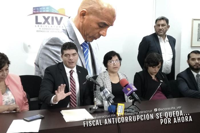 Aunque amagó en medios, Morena no podrá tumbar a Fiscal Anticorrupción de Veracruz
