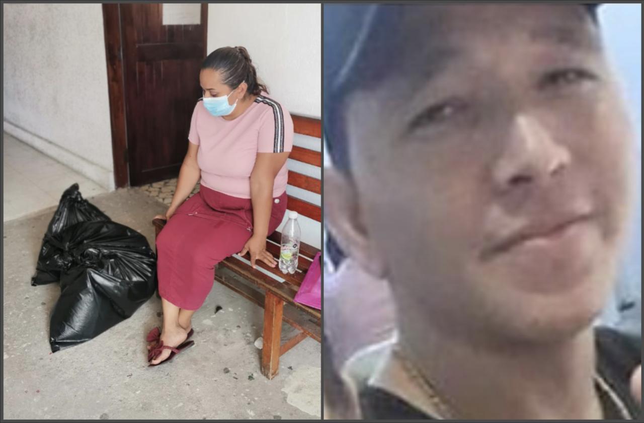 Fiscalía entrega restos de desaparecido en bolsas negras