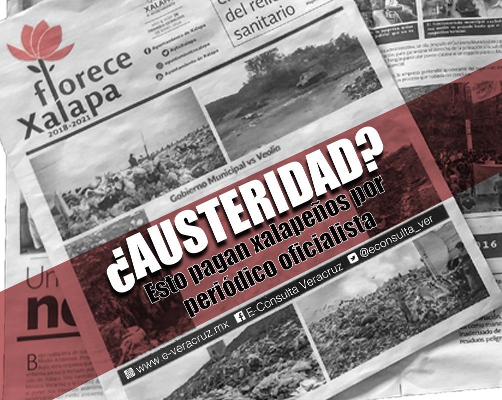 Ayuntamiento gasta más de medio millón de pesos en periódico Xalapa Florece