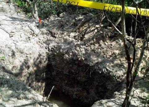 Encuentran cuerpo de menor en una fosa en Tabasco