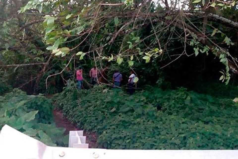Hallan cinco cuerpos en fosa clandestina en Ixhuatlán, Veracruz