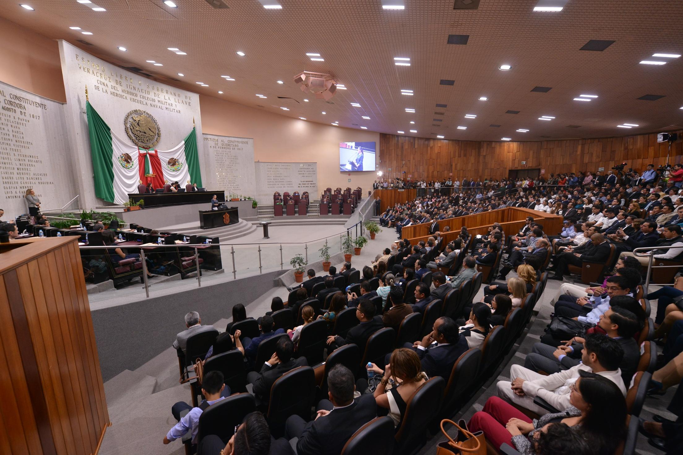 Presupuesto del Congreso de Veracruz aumentaría 58 mdp en 2019
