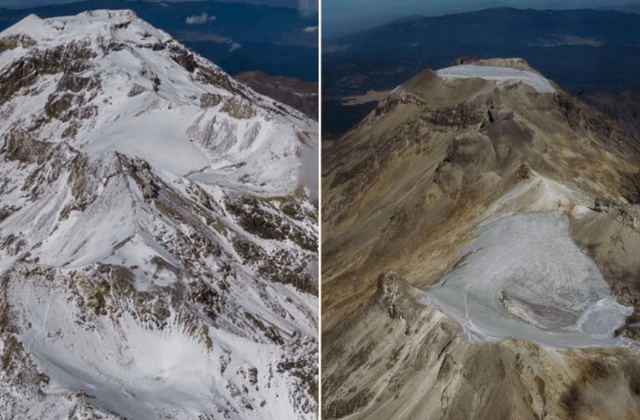 Día de la Tierra: Declaran extinción de glaciar en volcán Iztaccíhuatl