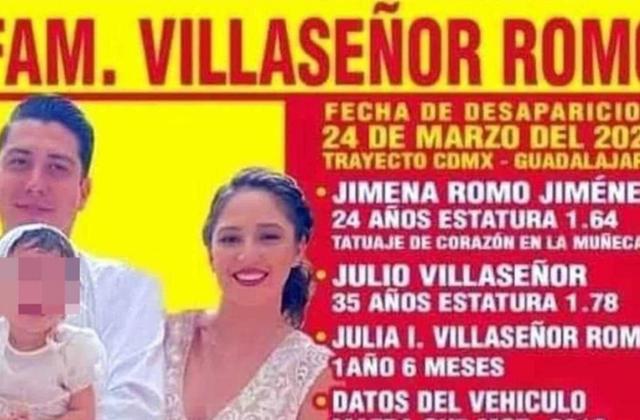 Localizan a toda la familia desaparecida en Acatic, Jalisco