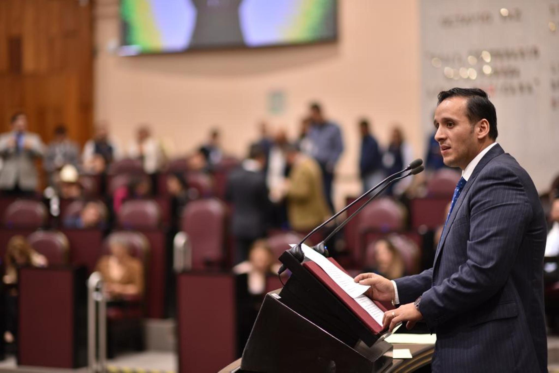 Legisladores del PAN denuncian a secretarios de Cuitláhuac García
