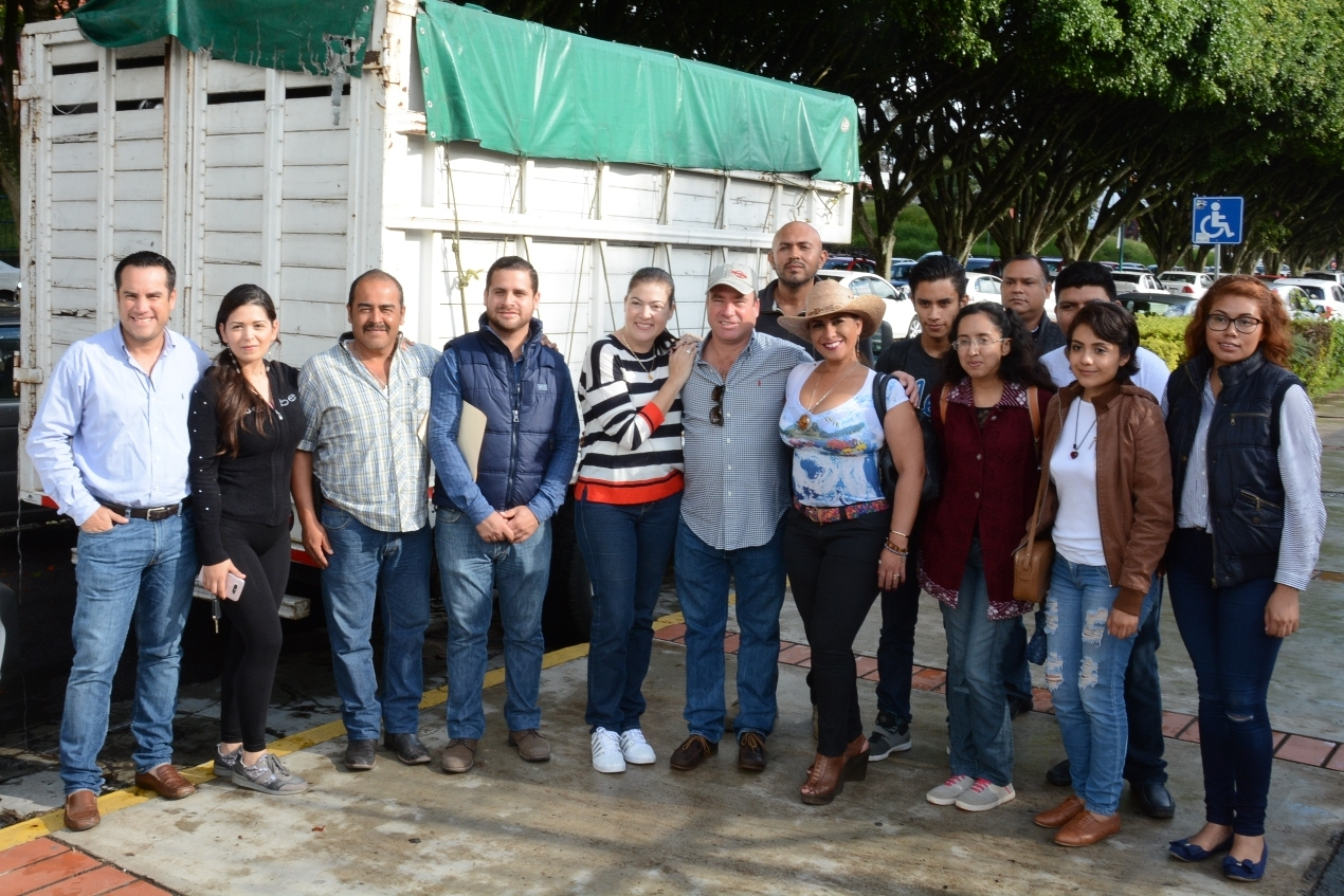 Continúa apoyo del Congreso de Veracruz para damnificados