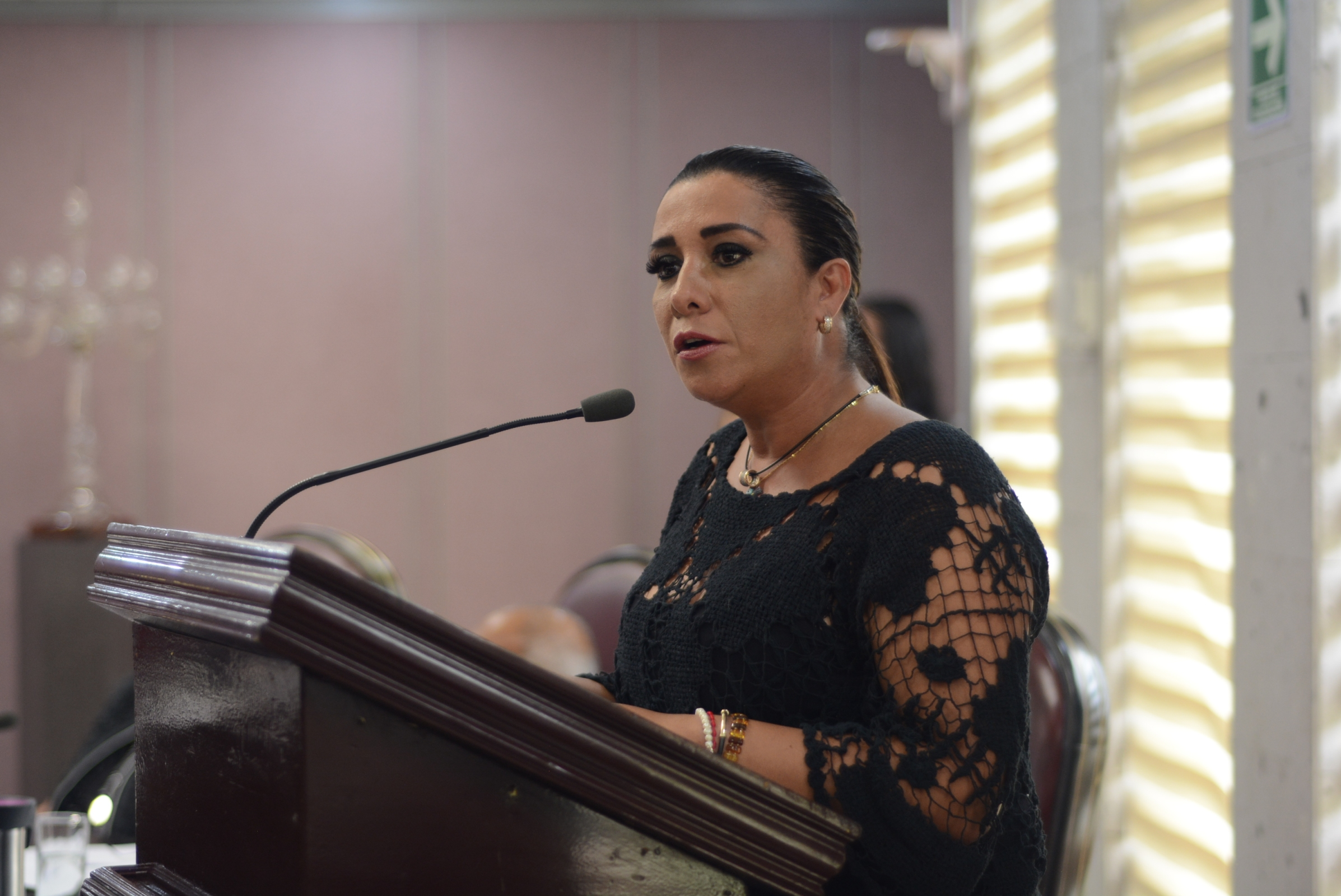 Pide diputada Mariana Dunyaska pronta solución para egresados de la UPAV