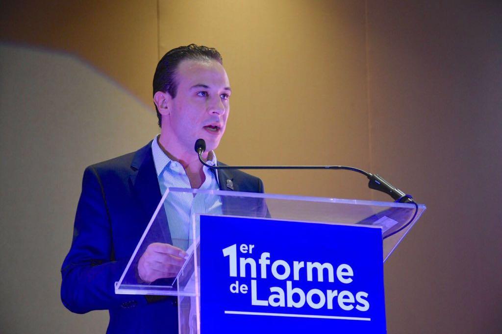Rinde Diputado Juan Manuel de Unánue su Primer Informe de Labores