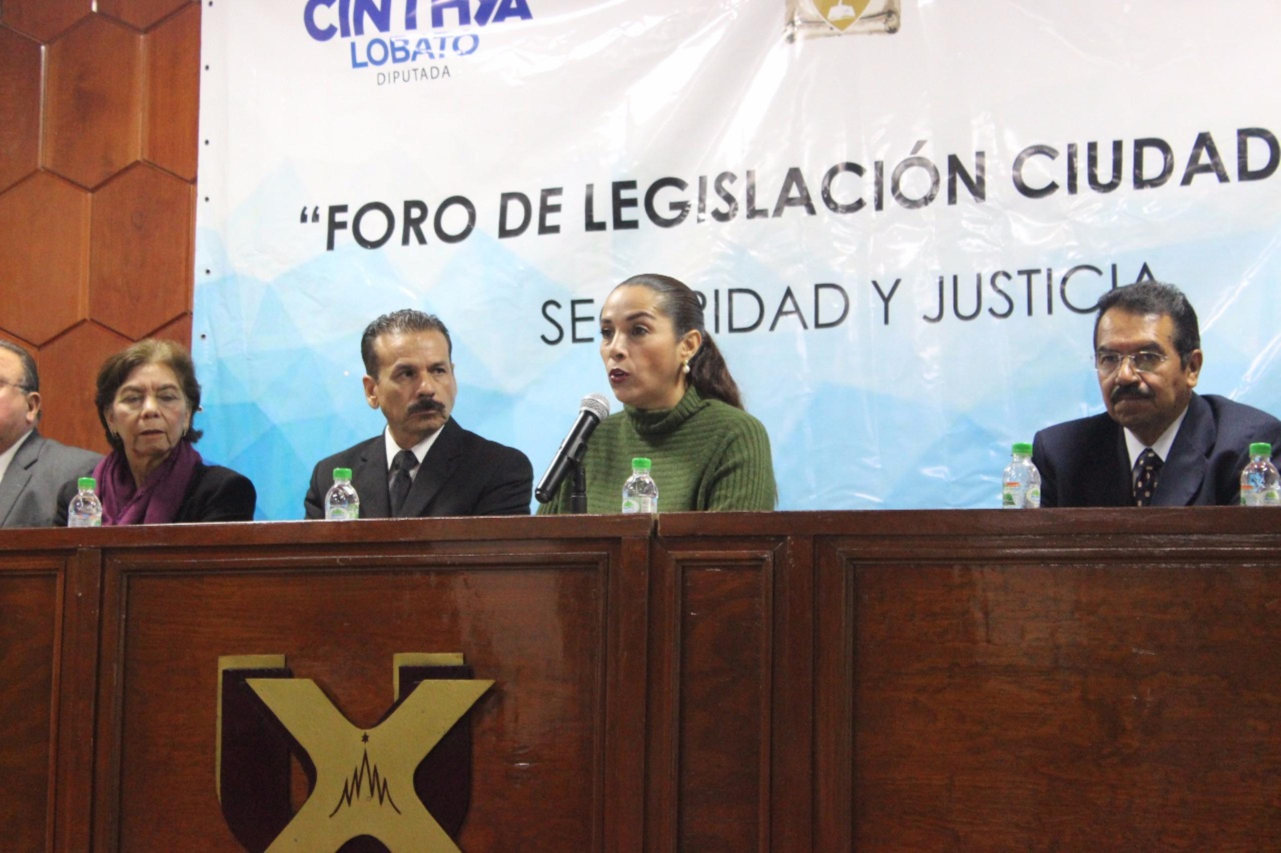 Legislar debe ser un acto colectivo, no de voluntad propia: Cinthya Lobato
