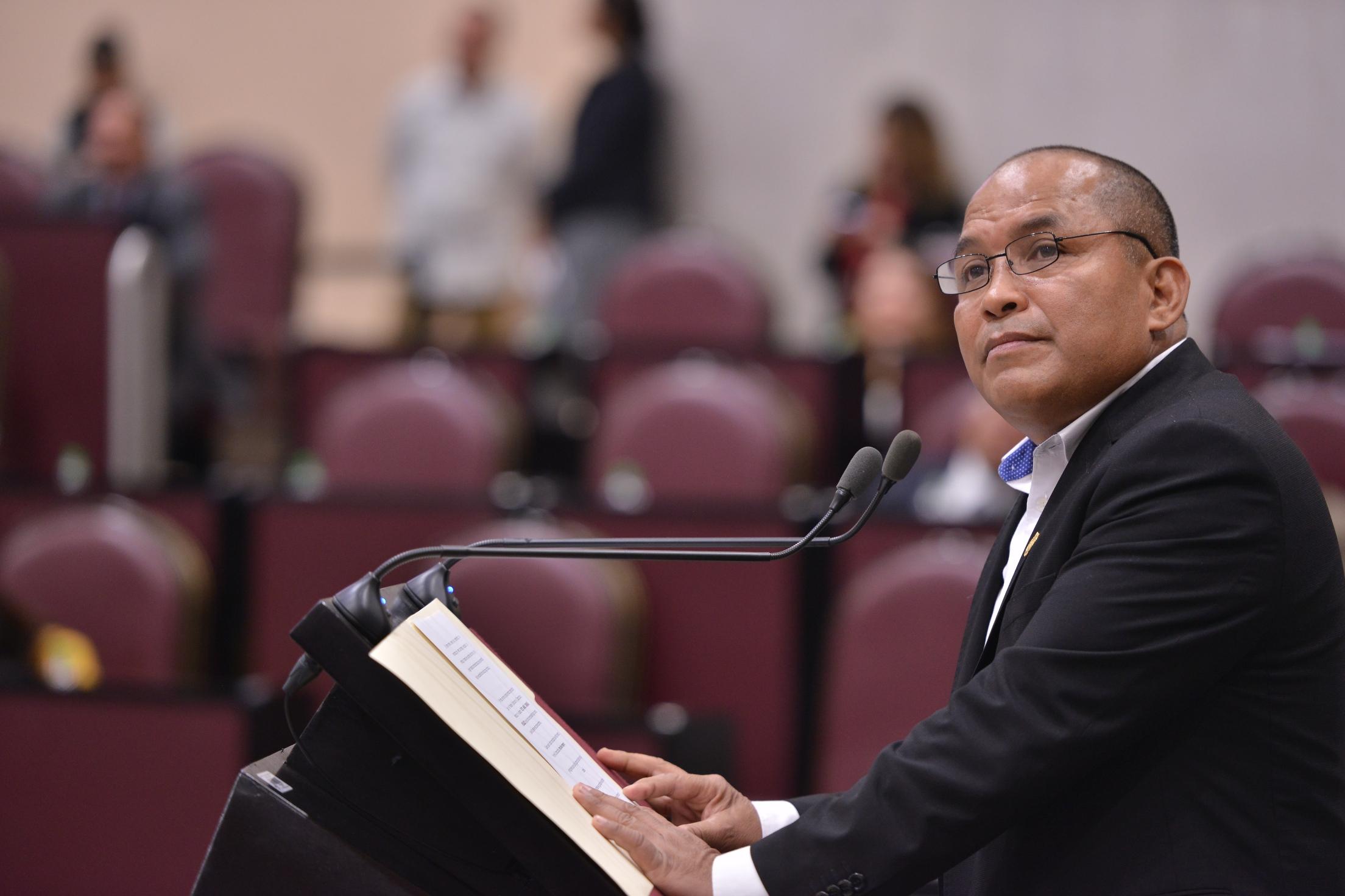 Solicita diputado atención al servicio  de limpia pública en Coatzacoalcos