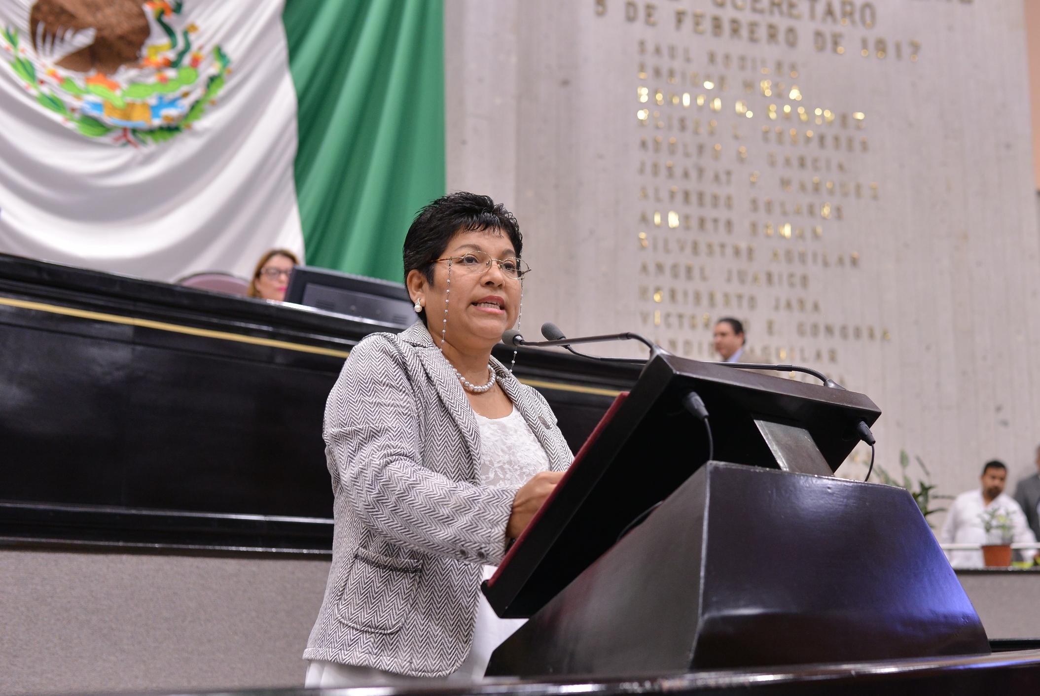Respalda diputada María del Rocío Pérez a los taxistas de la entidad