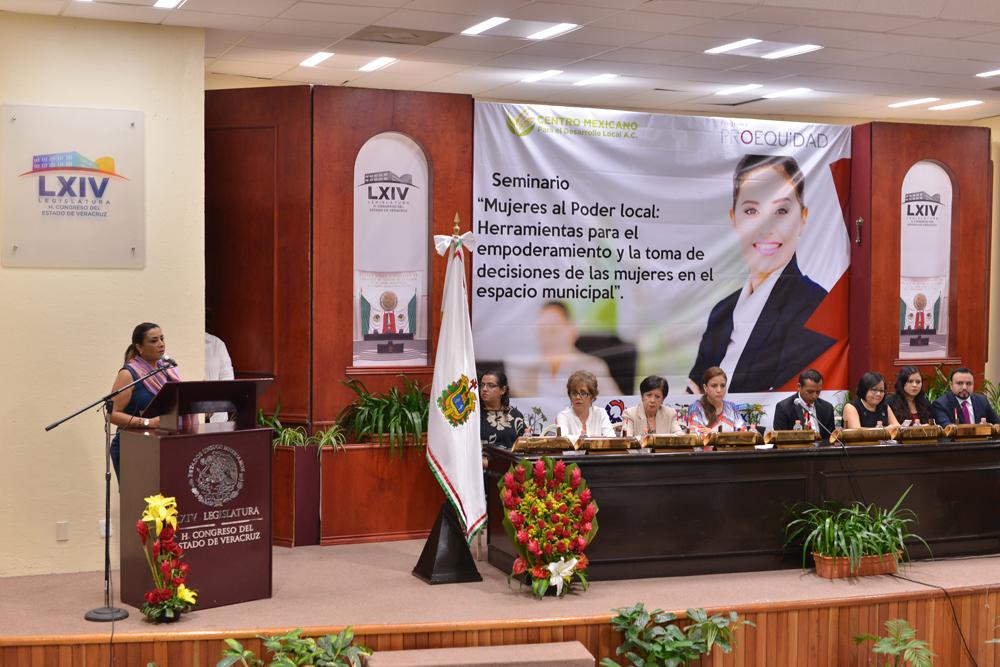 Con 56 presidentas municipales, paridad de género da resultados en Veracruz