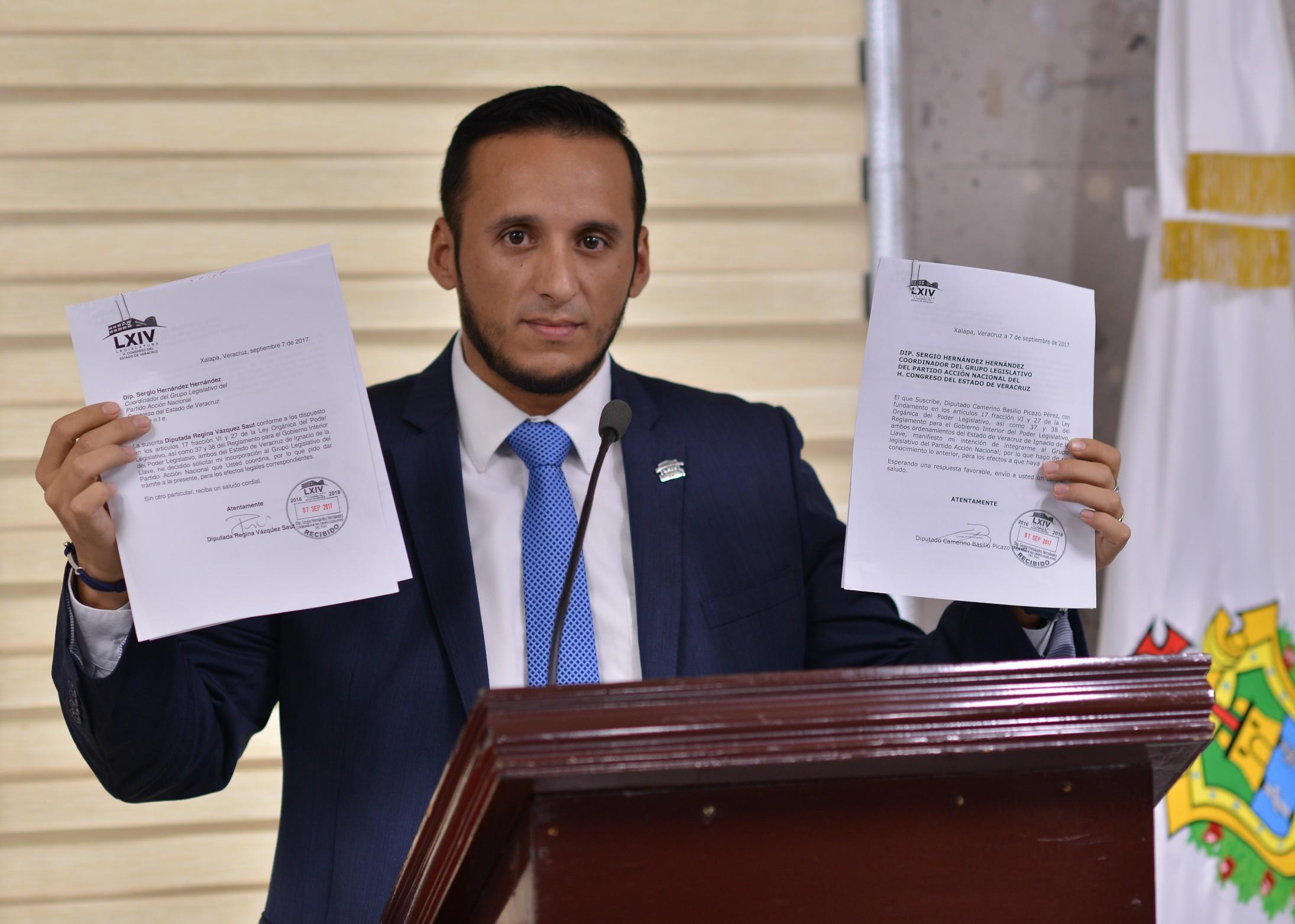 Mantiene Grupo Legislativo del PAN la Junta de Coordinación Política