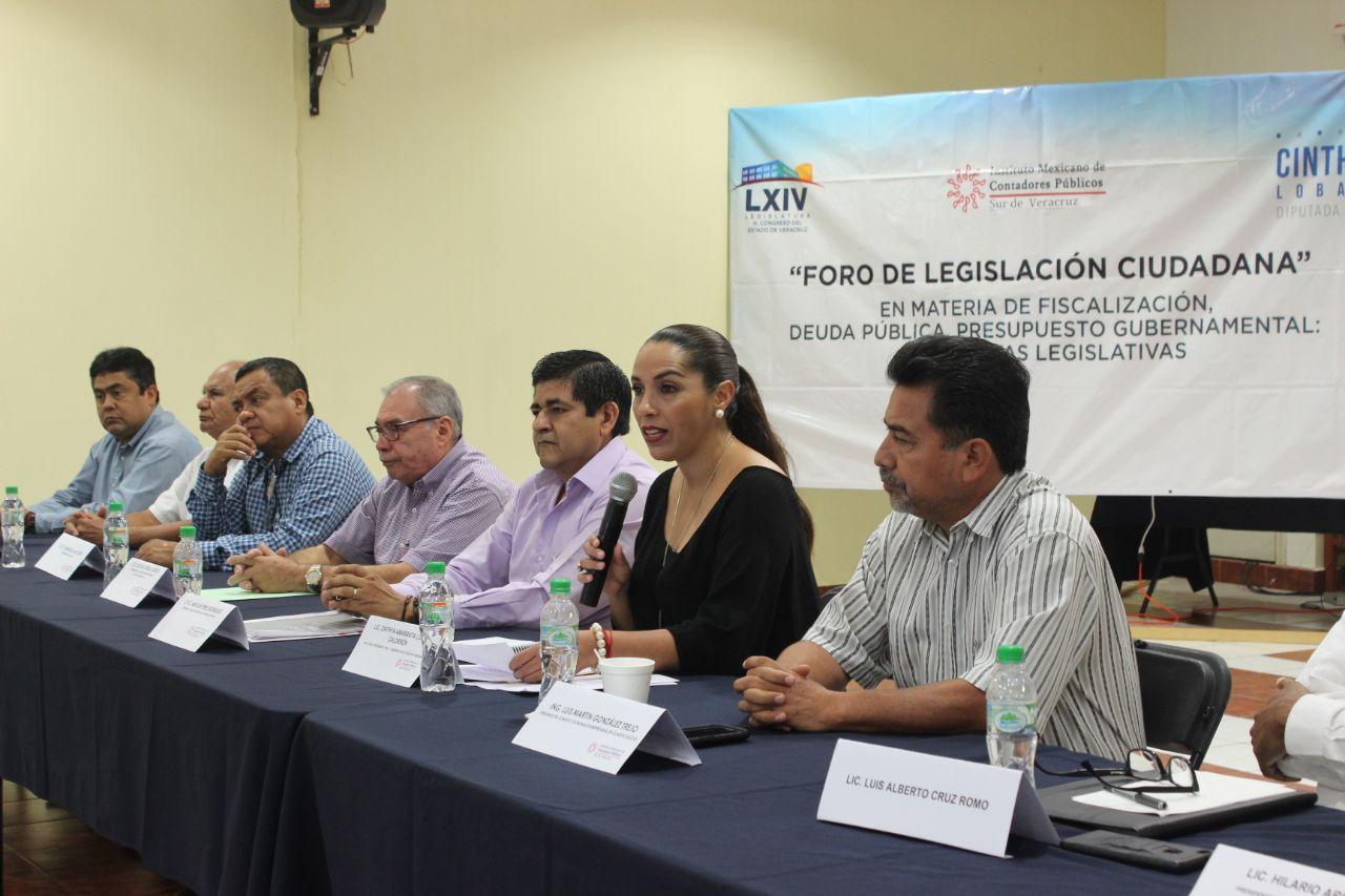 Necesario ajustar las leyes a la realidad de Veracruz: Cinthya Lobato