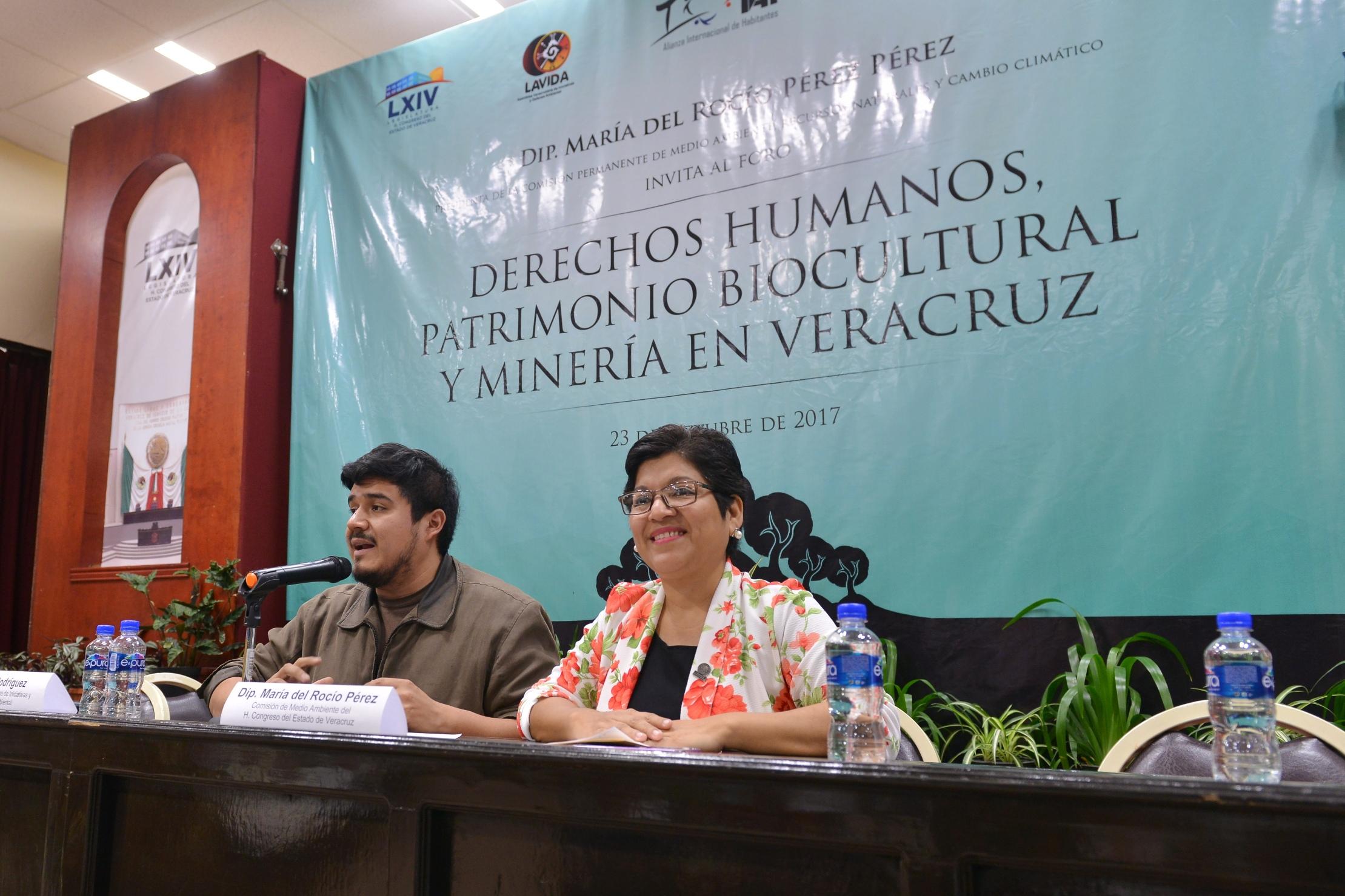 Exige diputada Rocío Pérez cancelar proyectos extractivos