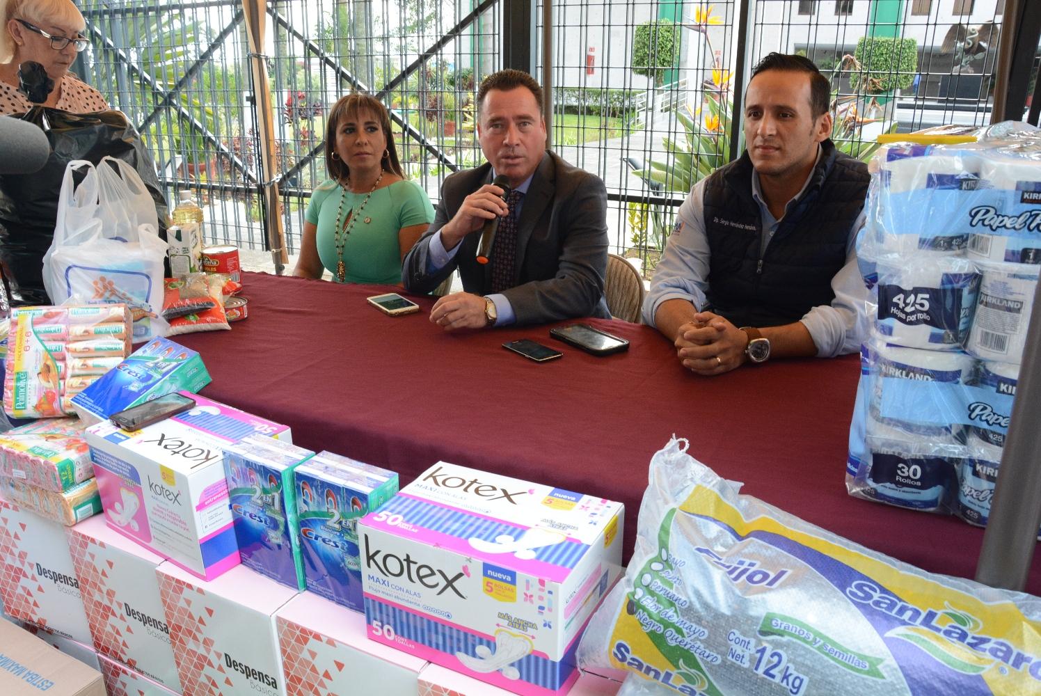 Invitan diputados del PAN a sumarse para apoyar a los damnificados veracruzanos