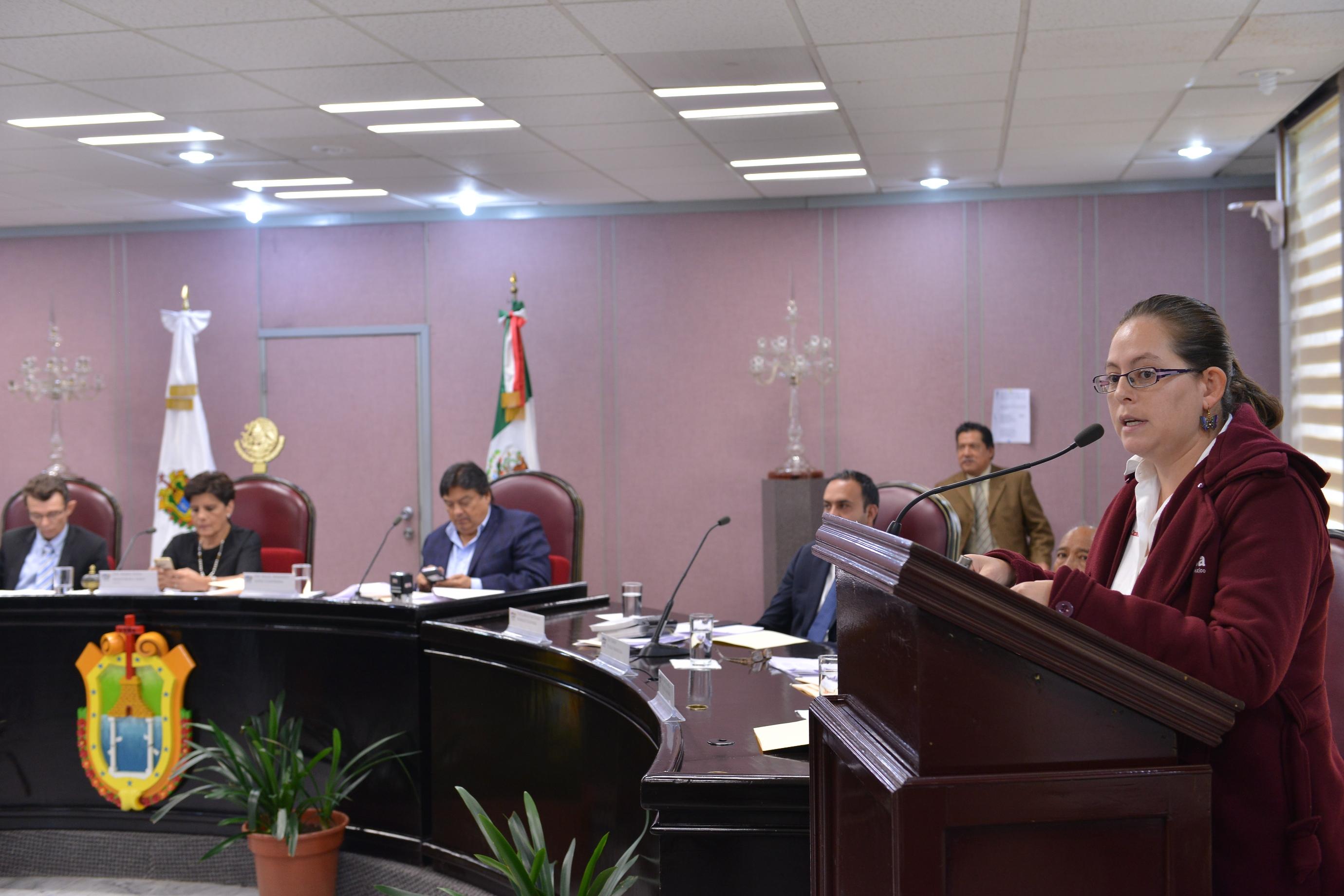 Solicita diputada Tanya Carola reinstalación de policías despedidos injustificadamente
