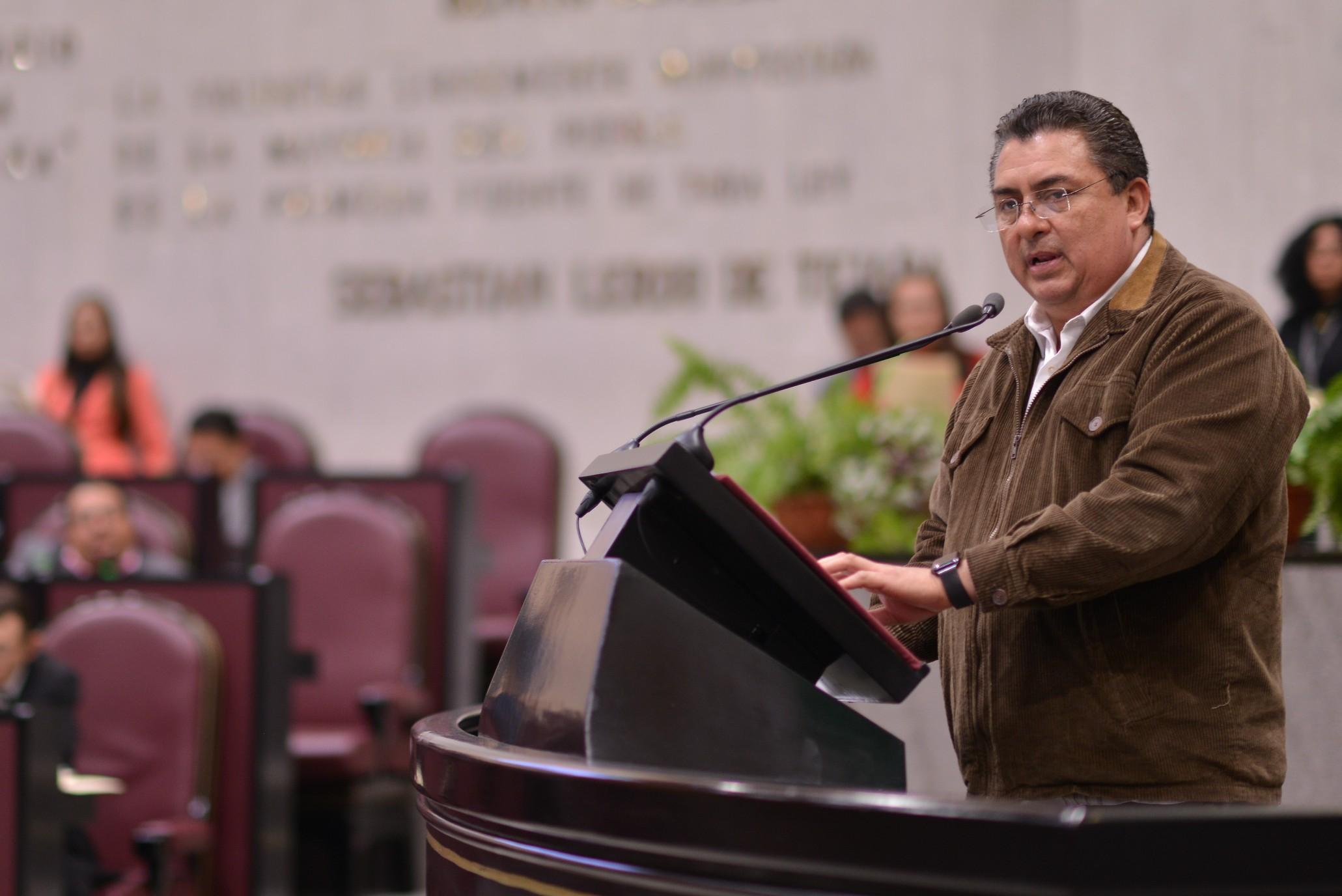 Solicita Callejas Roldán se transparenten los recursos para el ejercicio fiscal 2018