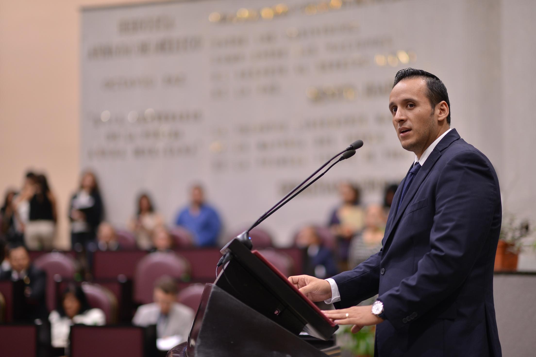 Impulsará PAN consolidación del Sistema Estatal Anticorrupción: Sergio Hernández