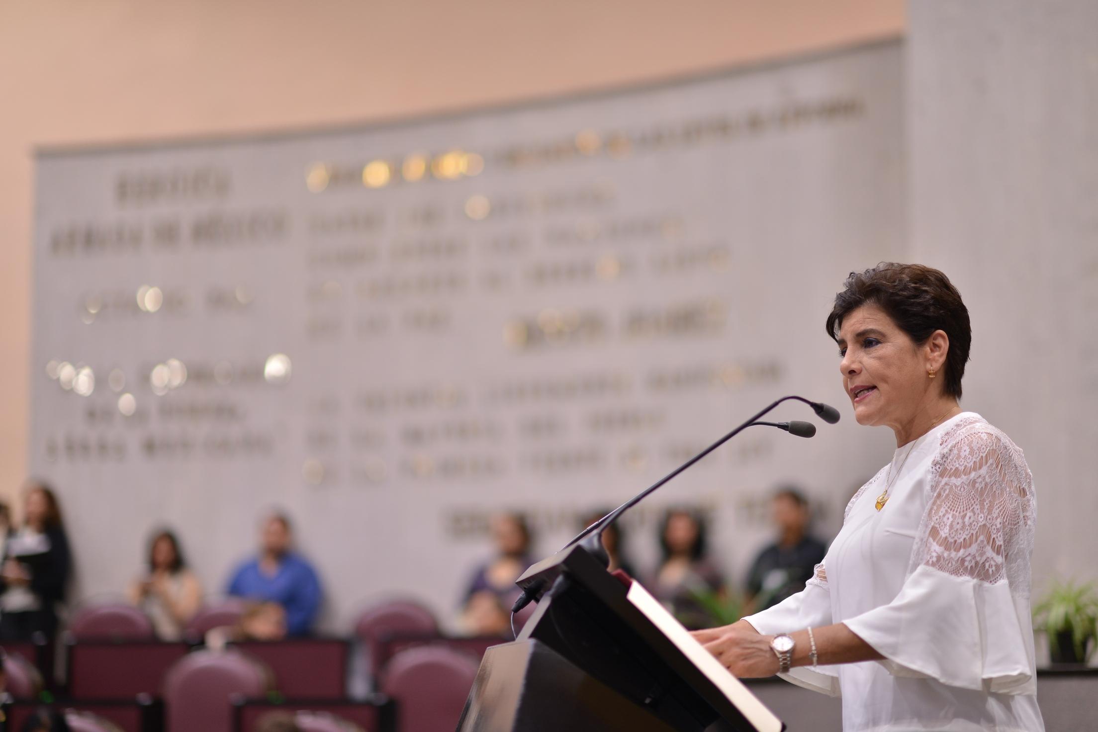 Informa diputada María Elisa Manterola del trabajo de la Diputación Permanente