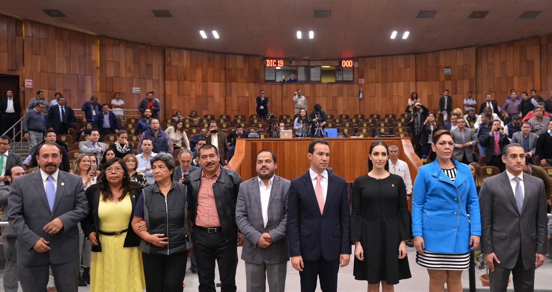 Nombra LXIV Legislatura a los 4 magistrados del Tribunal de Justicia Administrativa