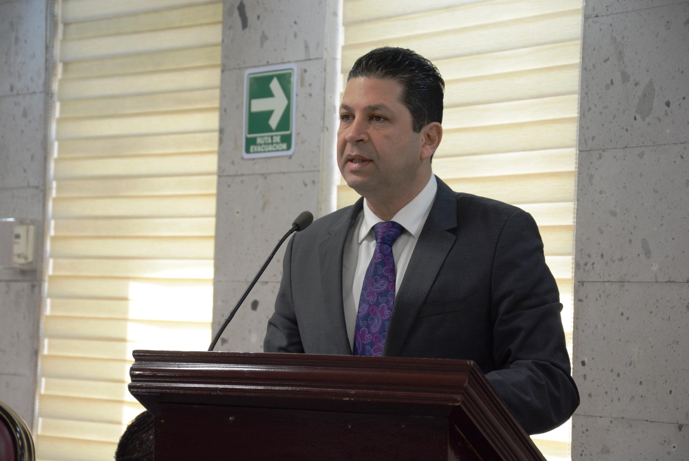 Busca diputado evitar retiro de seguridad a municipios de forma discrecional