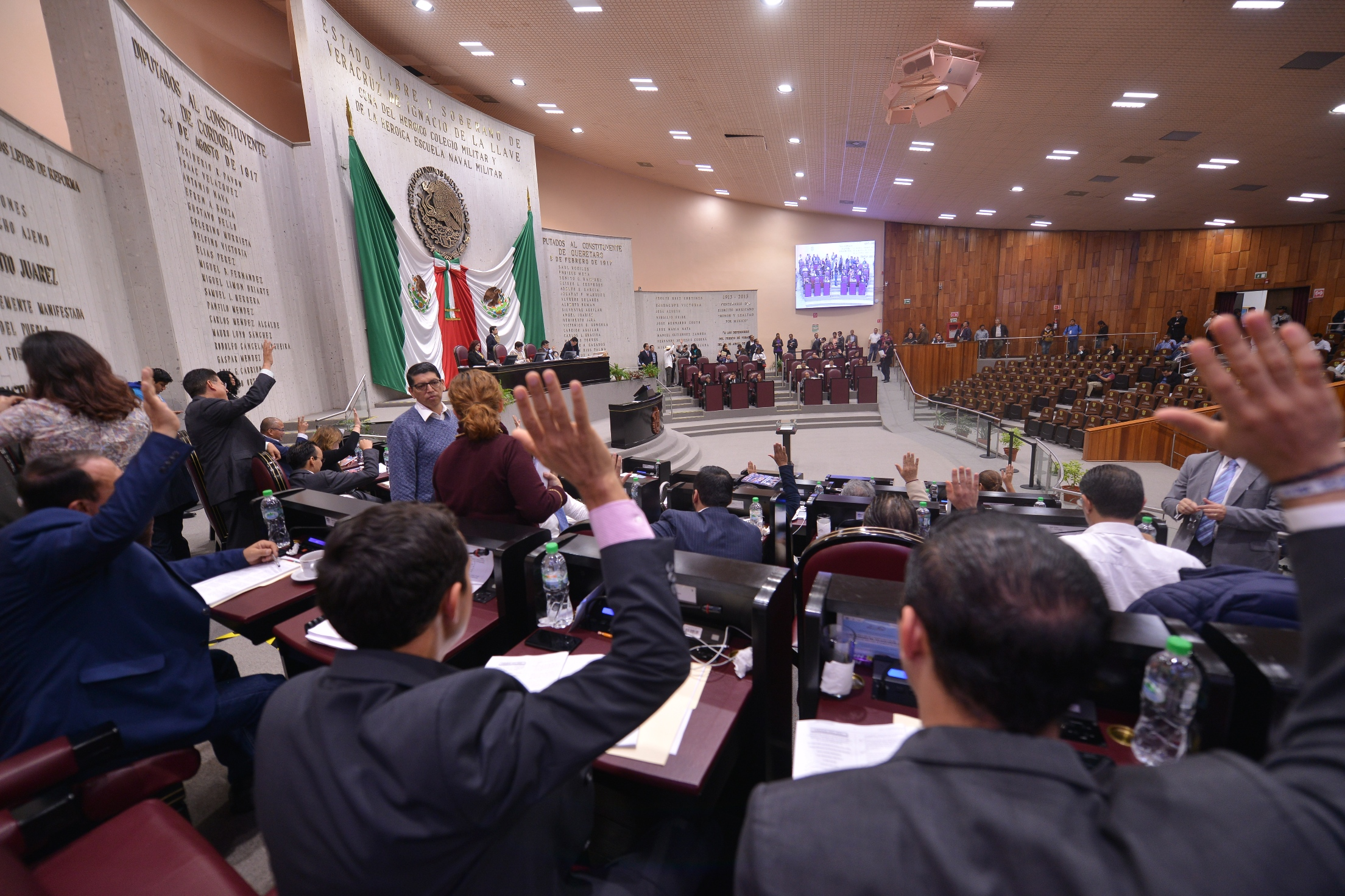Da entrada Congreso local a iniciativa que eliminaría el fuero constitucional