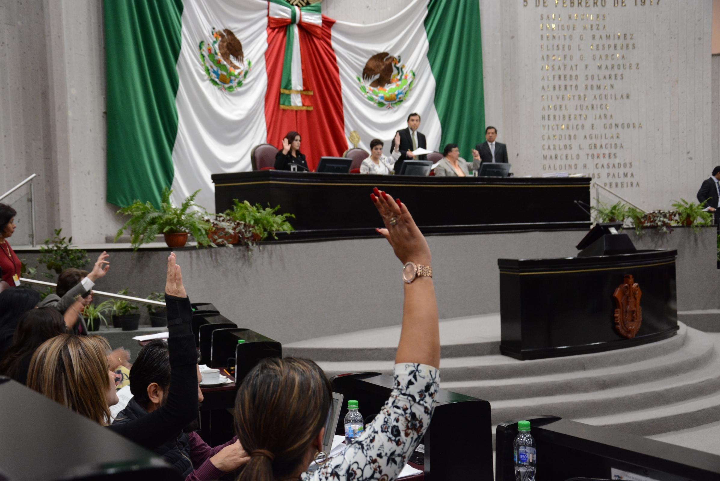 Establece Congreso local mecanismos  de control en adjudicación de obras
