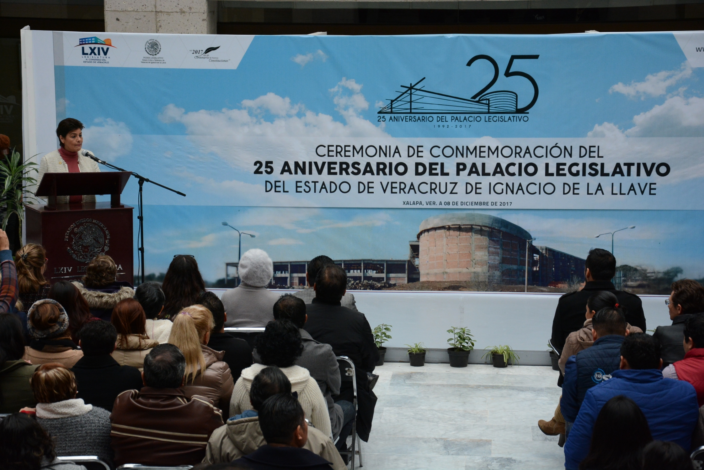 Conmemora LXIV Legislatura 25 años de la Sede del Poder Legislativo de Veracruz