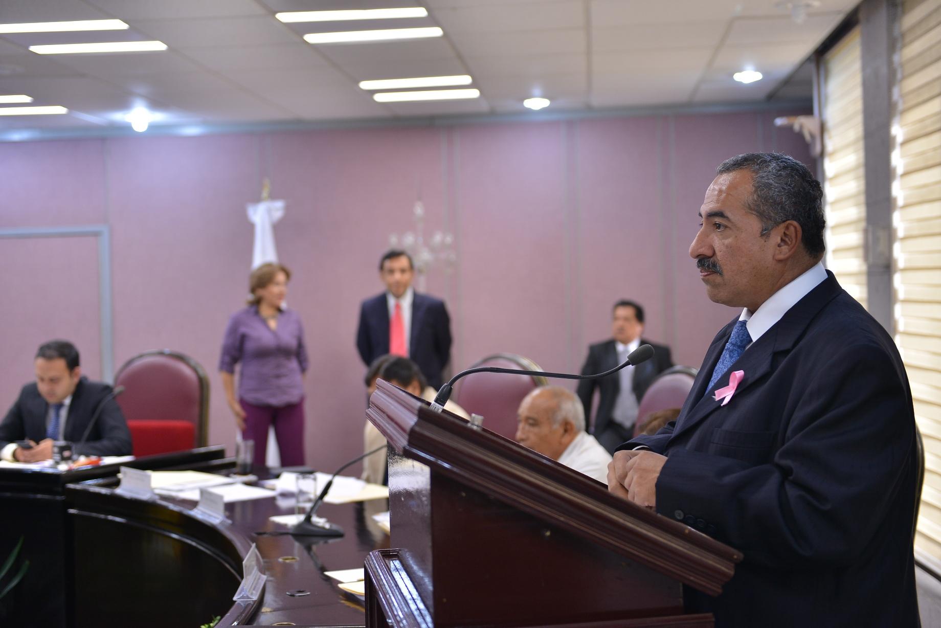 Marco Núñez pide aplicar la Ley de Protección Civil para prevenir riesgos