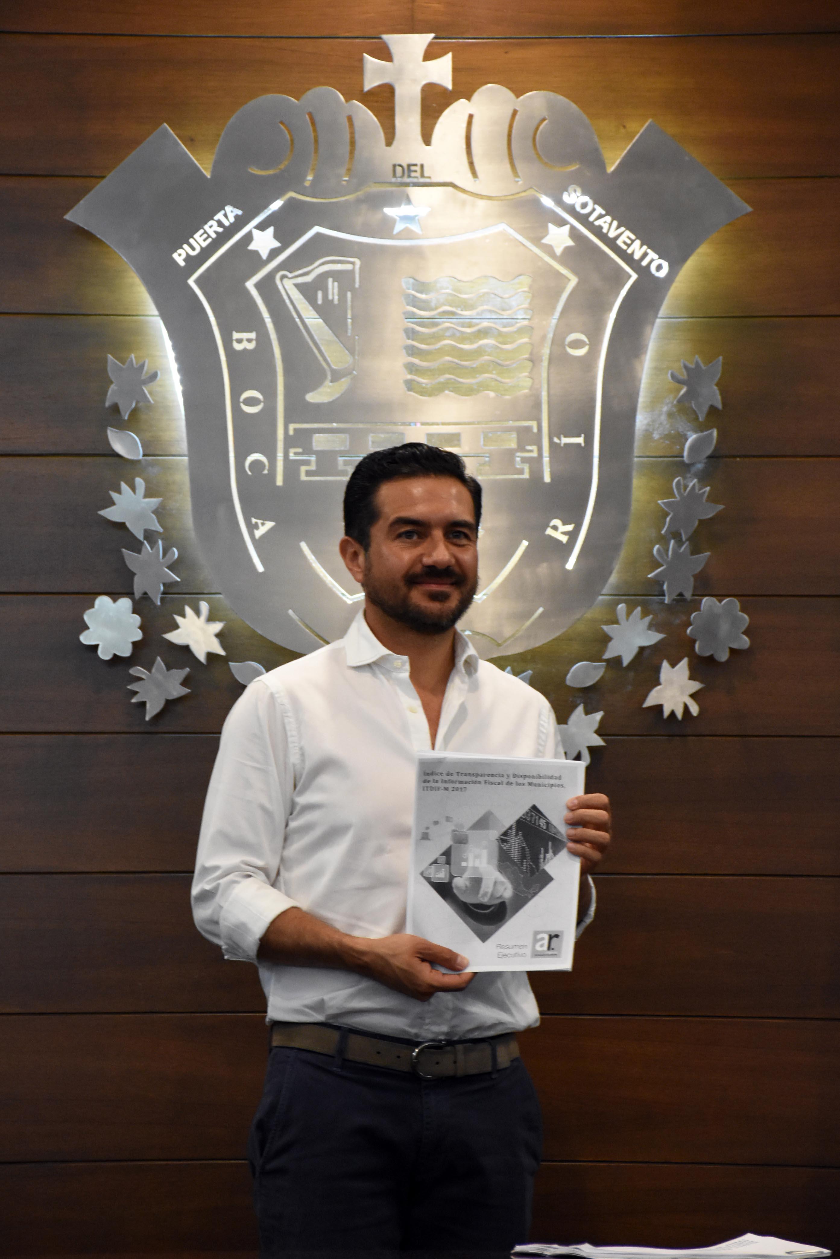 Ayuntamiento de Boca del Río, primer lugar en transparencia municipal y séptimo a nivel nacional