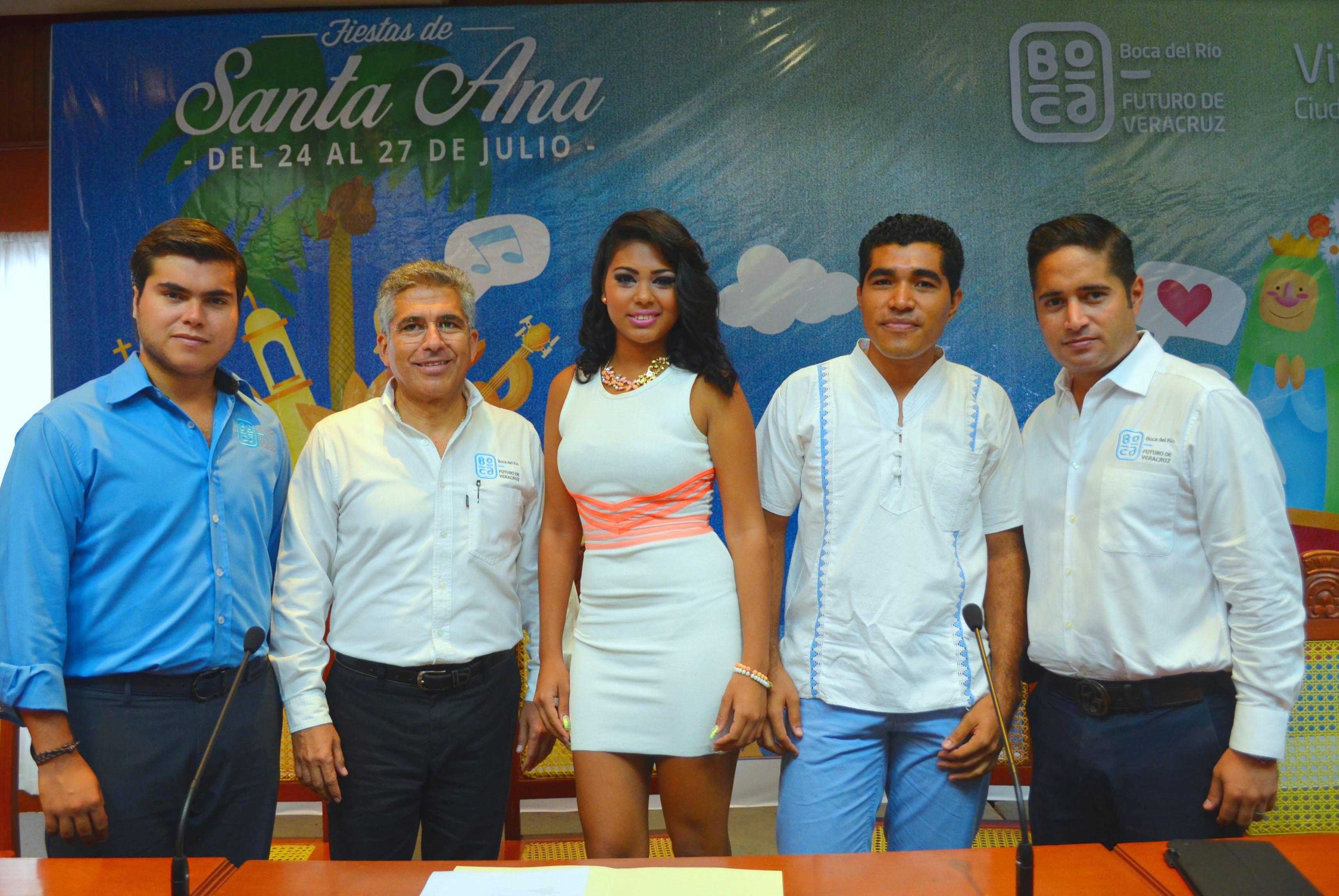 Del 24 al 27 de Julio se realizarán las Fiestas de Santa Ana en Boca del Río