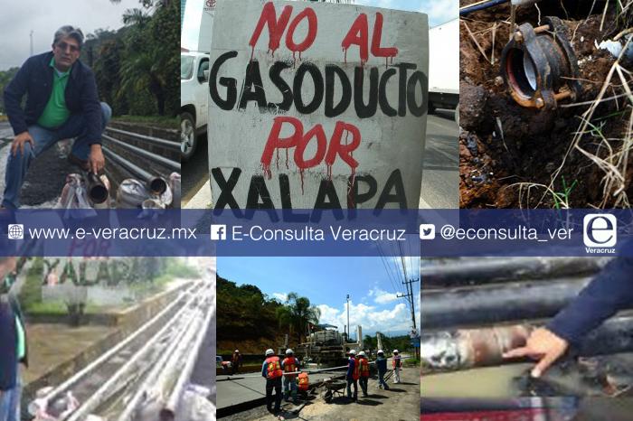 Surge Frente unido contra gasoducto de Xalapa