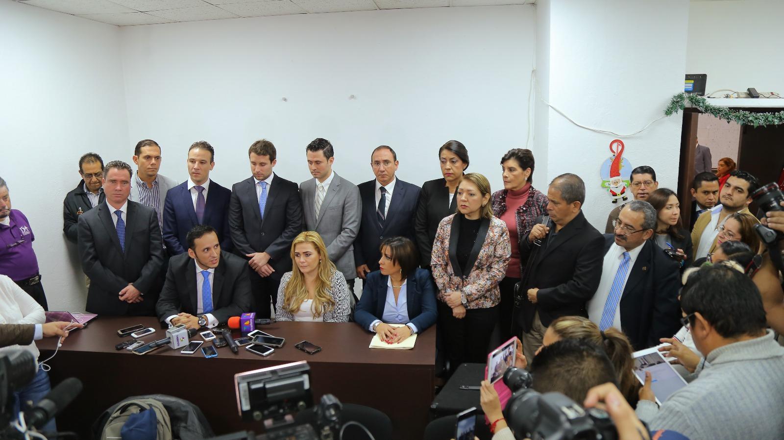 Diálogo político para rescatar a Veracruz debe ser prioridad: GLPAN