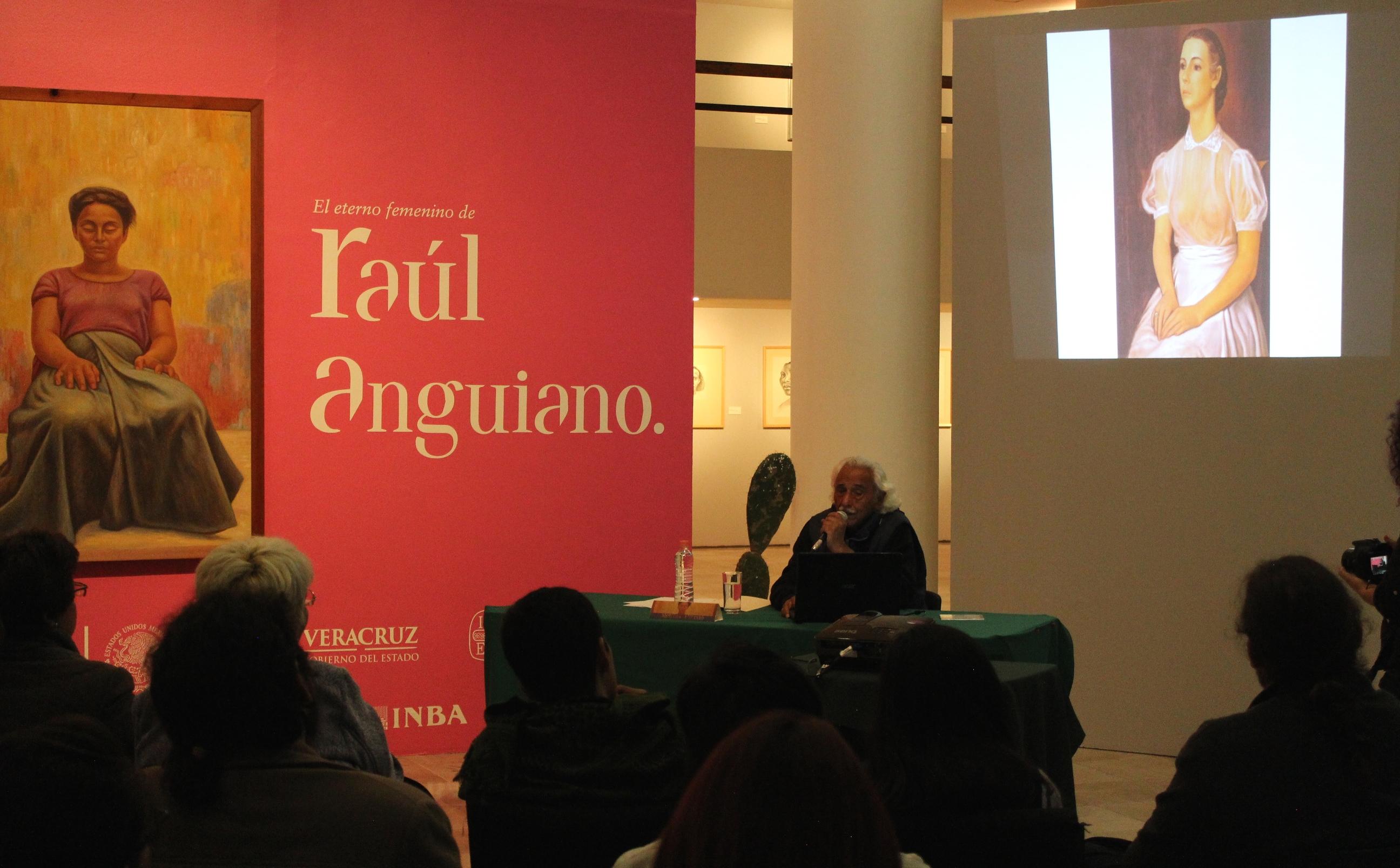 Aborda Melchor Peredo la obra de Raúl Anguiano, en la Pinacoteca Diego Rivera