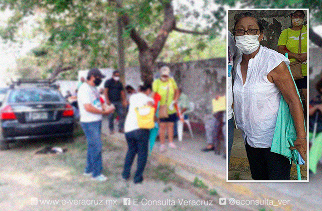 Francis caminó 3 kilómetros bajo el sol por su segunda vacuna covid