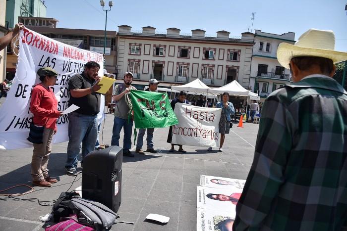Desapariciones forzadas son parte de la política de estado: FNLS