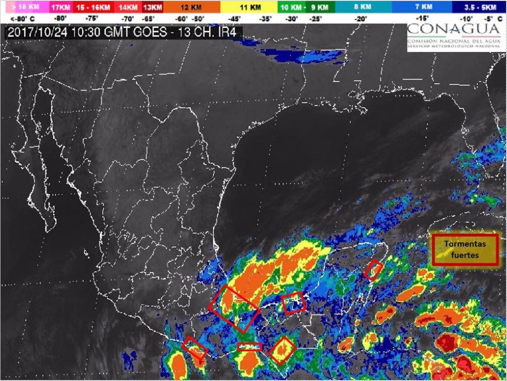 Activan alerta gris por frente frío 6 en Veracruz