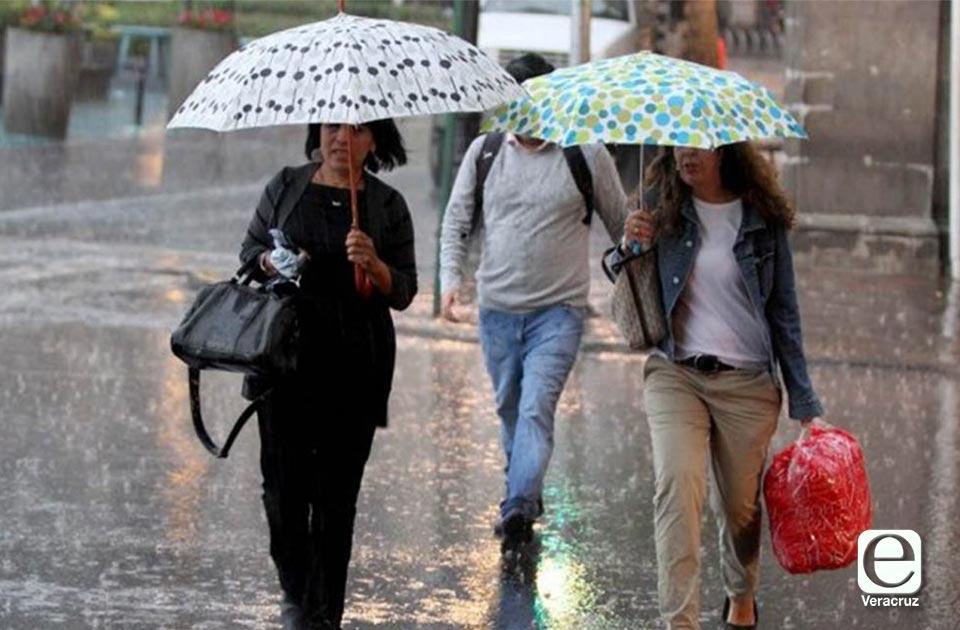 ¡Sureños saquen el paraguas! Llega Frente Frío #7 a Veracruz