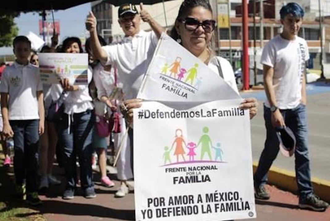 Anuncian  nueva movilización del Frente Nacional por la Familia
