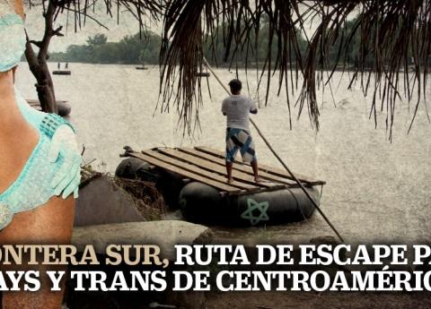 Frontera sur, ruta de escape para gays y trans de centroamérica